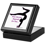 Gymnastics Keepsake Box - Success