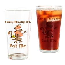 Eat Me Pint Glass