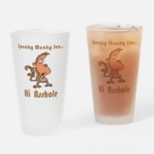 Hi Asshole Pint Glass