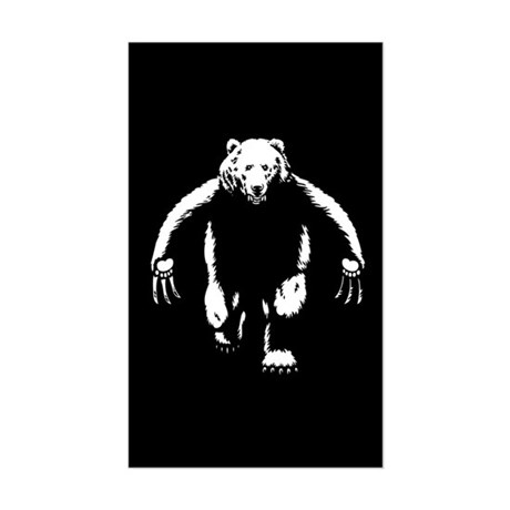 Bearman! Sticker (Rectangle)