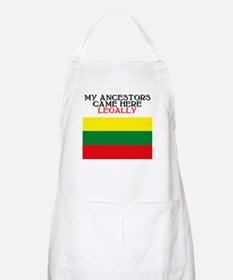Lithuanian Heritage BBQ Apron