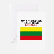 Lithuanian Heritage Greeting Cards (Pk of 10)