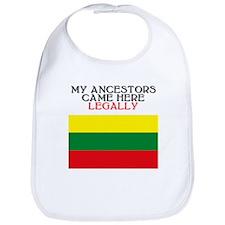 Lithuanian Heritage Bib