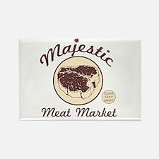 Meat Market Rectangle Magnet