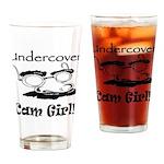 Undercover Cam Girl Pint Glass