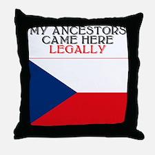 Czechoslovakian Throw Pillow