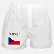 Czechoslovakian Boxer Shorts