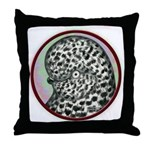 Splash Tumbler Head Throw Pillow