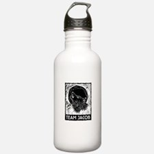 Team Jacob (linocut) Water Bottle