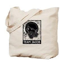 Team Jacob (linocut) Tote Bag