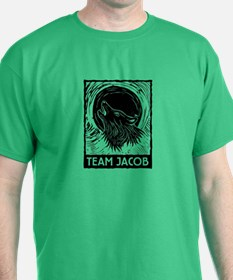 Team Jacob (linocut) T-Shirt