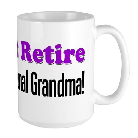 Professional Grandma Large Mug