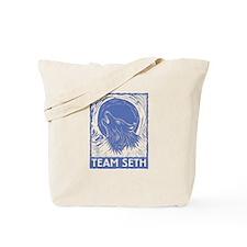 Team Seth (linocut) Tote Bag