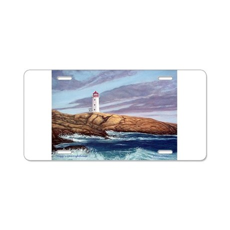 Peggy's Cove Lighthouse Aluminum License Plate