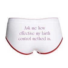 Birth Control Women's Boy Brief