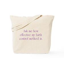 Birth Control Tote Bag