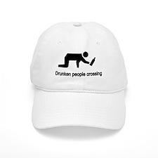 Drunken People Crossing Baseball Cap