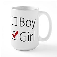 Girl Checkbox Mug