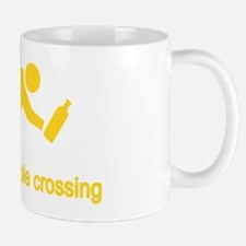 Drunken People Crossing Mug