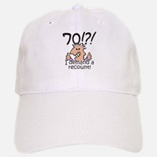 Recount 70th Birthday Hat
