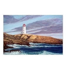 Peggy's Cove Lighthouse Postcards (Package of 8)