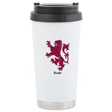 Lion - Rose Travel Mug