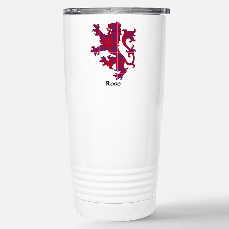 Lion - Rose Travel Mug