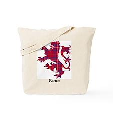 Lion - Rose Tote Bag