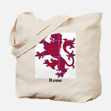 Lion - Rose Tote Bag