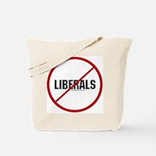 No Liberals Tote Bag