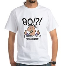 Recount 80th Birthday Shirt