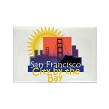 San Francisco Rectangle Magnet