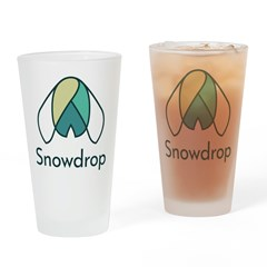 Snowdrop Pint Glass
