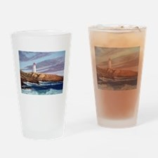 Peggy's Cove Lighthouse Drinking Glass