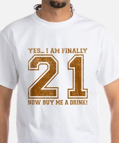 21st Birthday Shirt