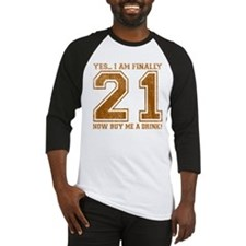 21st Birthday Baseball Jersey