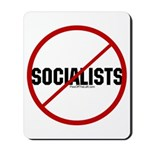 No Socialists Mousepad