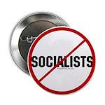 No Socialists Button
