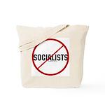 No Socialists Tote Bag
