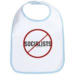No Socialists Bib