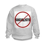 No Socialists Kids Sweatshirt