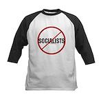 No Socialists Kids Baseball Jersey