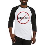 No Socialists Baseball Jersey