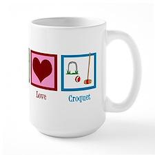 Peace Love Croquet Mug