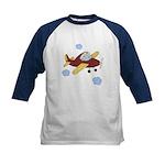 Giraffe - Airplane Kids Baseball Jersey