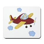 Giraffe - Airplane Mousepad