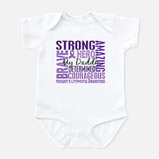 I Wear Violet 46 Hodgkin's Lymphoma Infant Bodysui