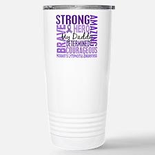 I Wear Violet 46 Hodgkin's Lymphoma Travel Mug