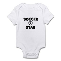 Soccer Star Infant Creeper