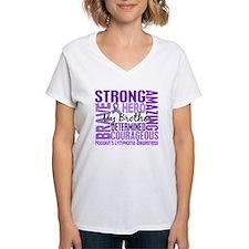 Tribute Square Hodgkin's Lymphoma Shirt